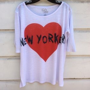 Go Couture Vintage Edition New Yorker top S